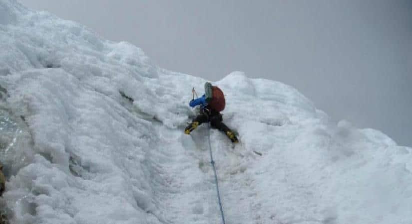 Singu Chuli Climbing