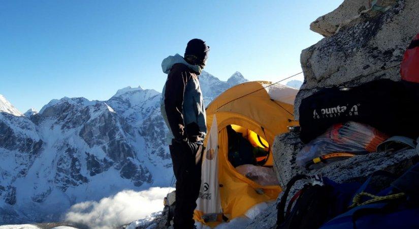 High Camp of Amadablam Expedition