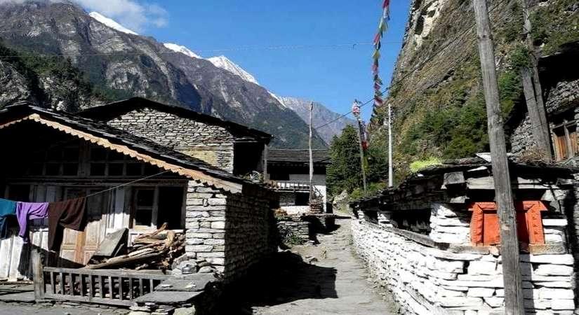 Beautiful Pisang Village