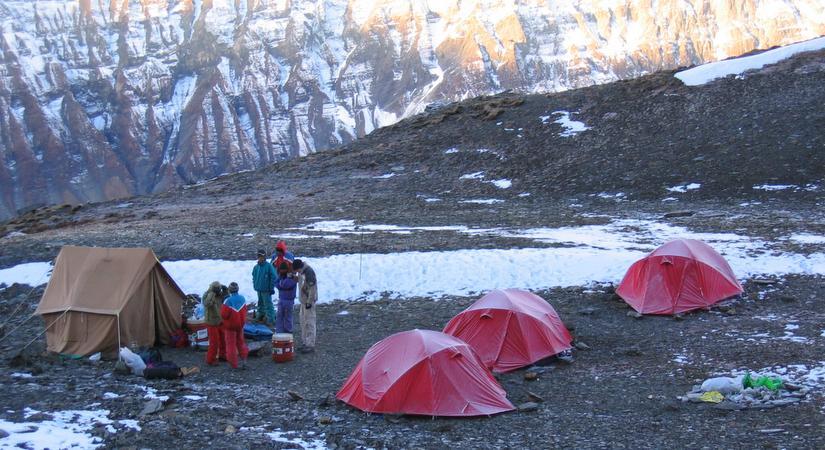 Tented Camping at Dhampus Phedi