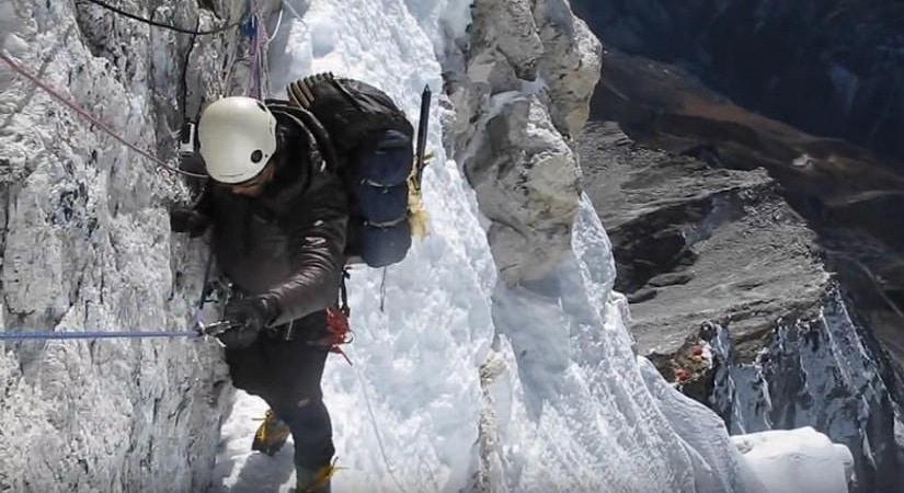 Climbing Ama Dablam