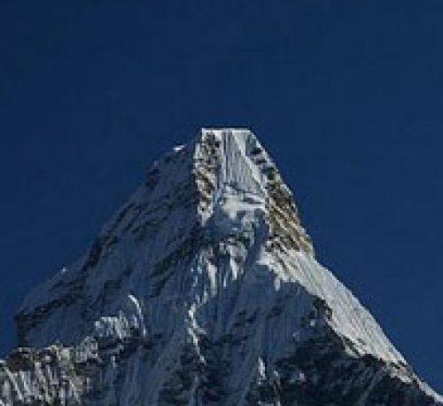 Mt Ama dablam peak