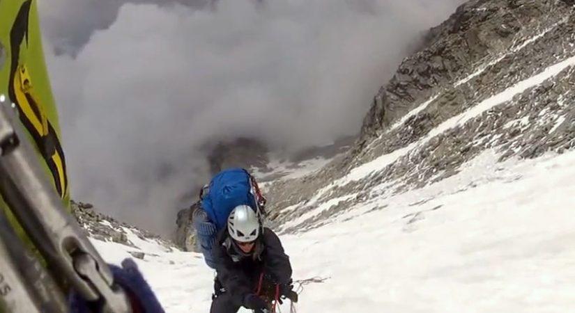 Climbing Thamserku