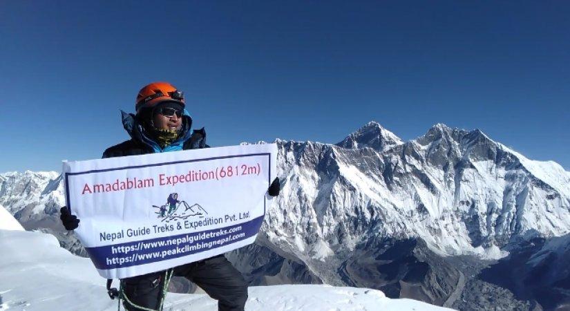 Summit of Amadablam (6812m)