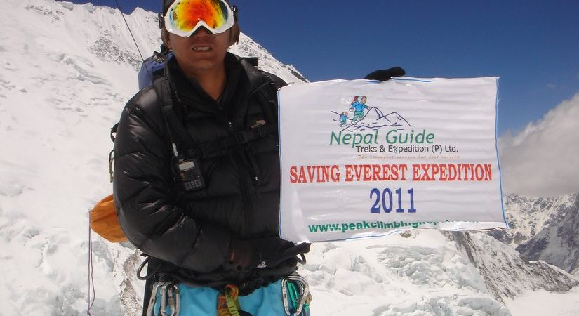 Successful Summit of Everest (8848m/29021ft)