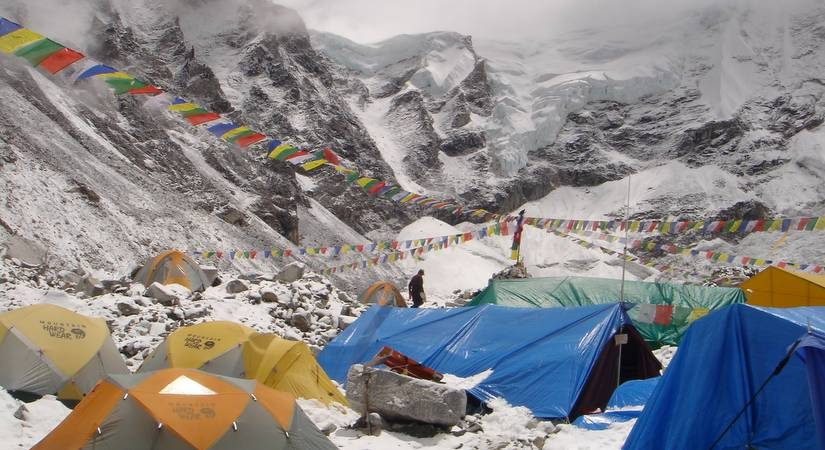 Everest Base Camp (5380m/176465ft)