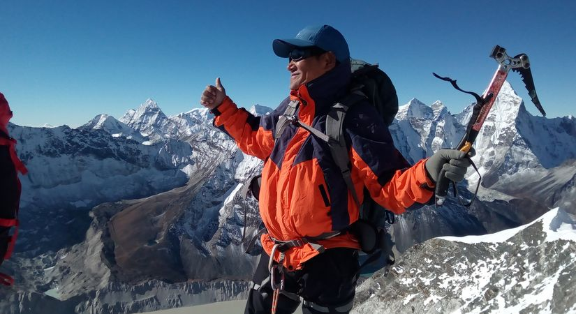 Island Peak Summit