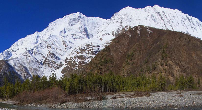 View of Mt. Kanjirowa (6883m/22576ft)