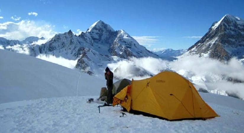 Kwangde Peak High Camp (5200m/17056ft)