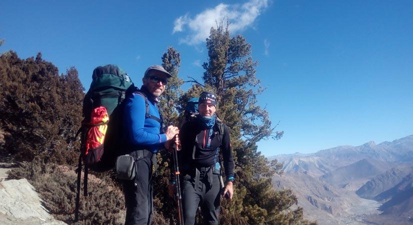 Landscape of Annapurna region