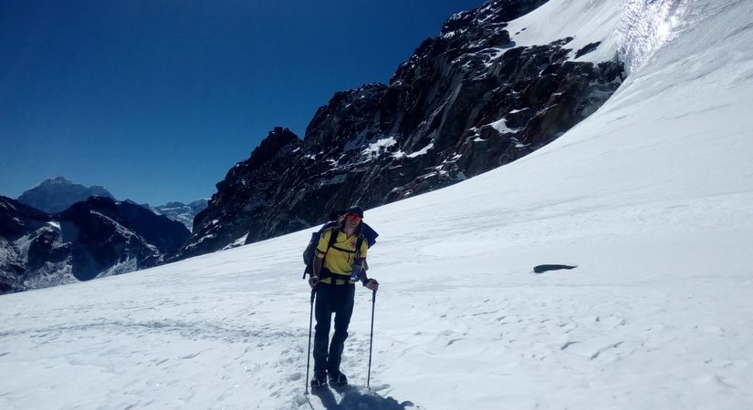 Way to Lobuche High Camp