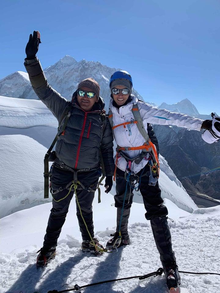 Lobuche Peak Summit 6119m