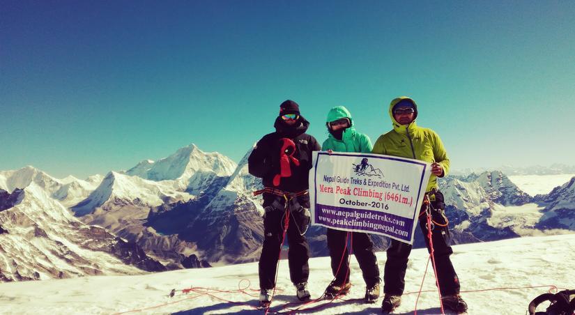 Successful summit Mera Peak