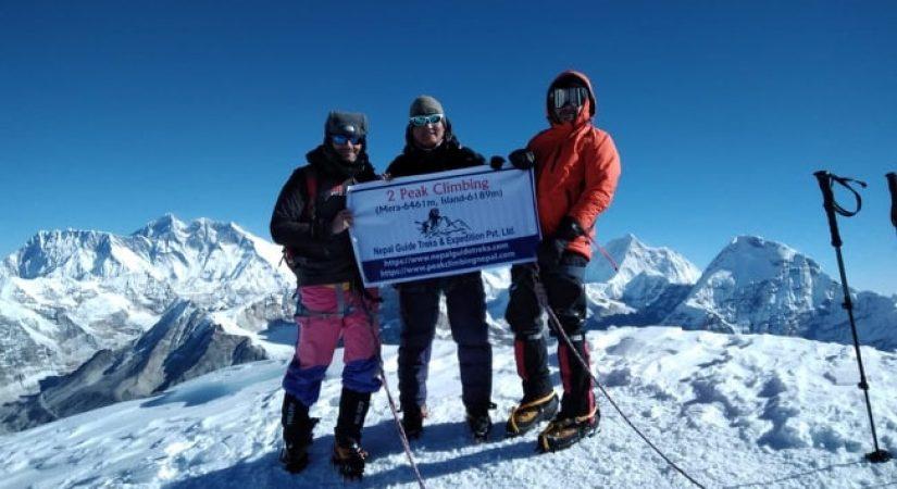 Mera Peak Amphu Lapcha La Pass | Mera Peak Summit 6476m