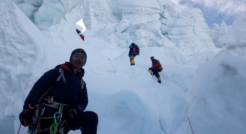 Khumbu Glacier- World's highest glacie