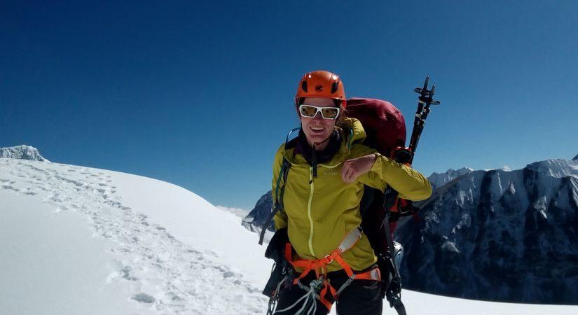 Summit at Nirekha Peak (6169m/20234ft)