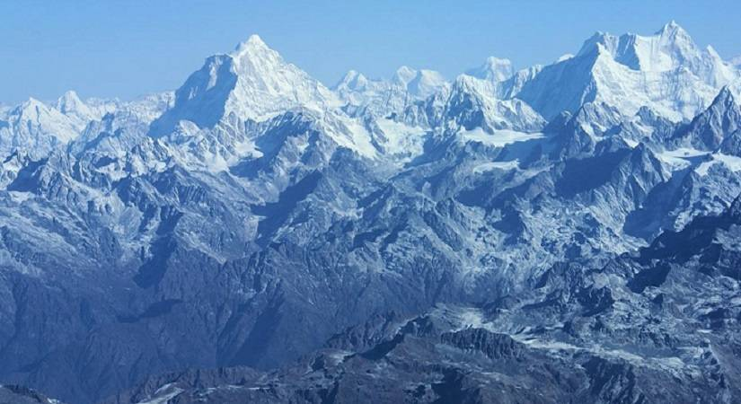 View from Phari Laptsa Summit (6017m/19736ft)