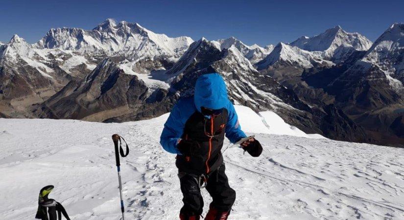 Summit of Abi Peak