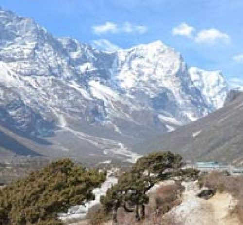 Three Peaks Climbing Pokalde Island and Lobuche
