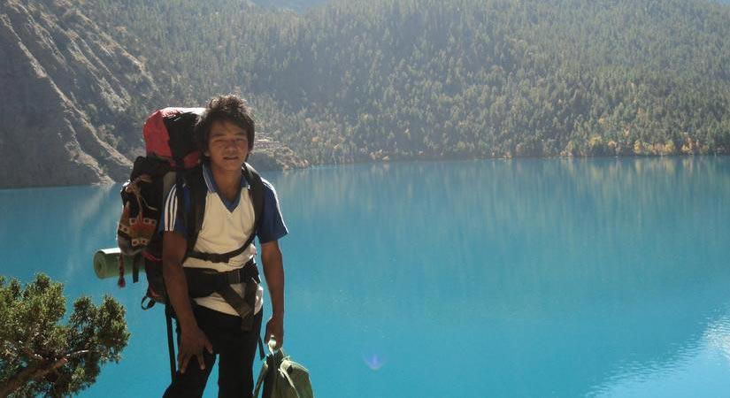 Snap at Phoksundo Lake