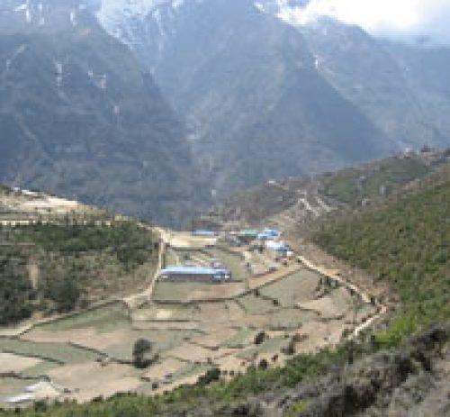 Langtang Lirung Village