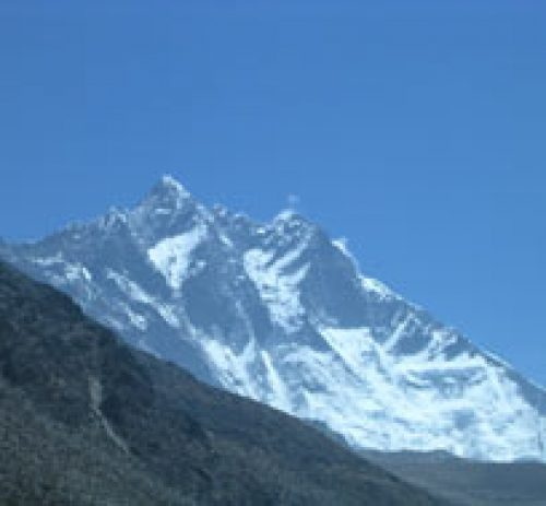View of Mt. Lhotse 8516m | Phari Laptsa Peak