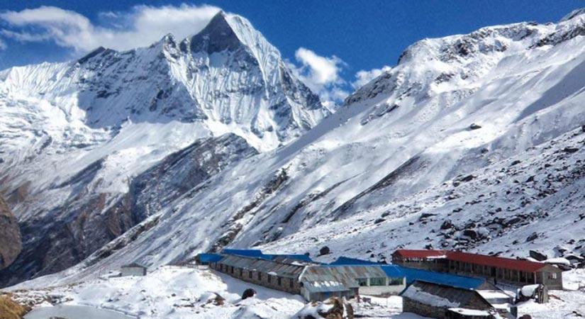 Annapurna Base Camp (4130m/13546ft)