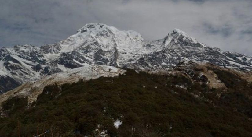 View from Mardi Himal High Camp