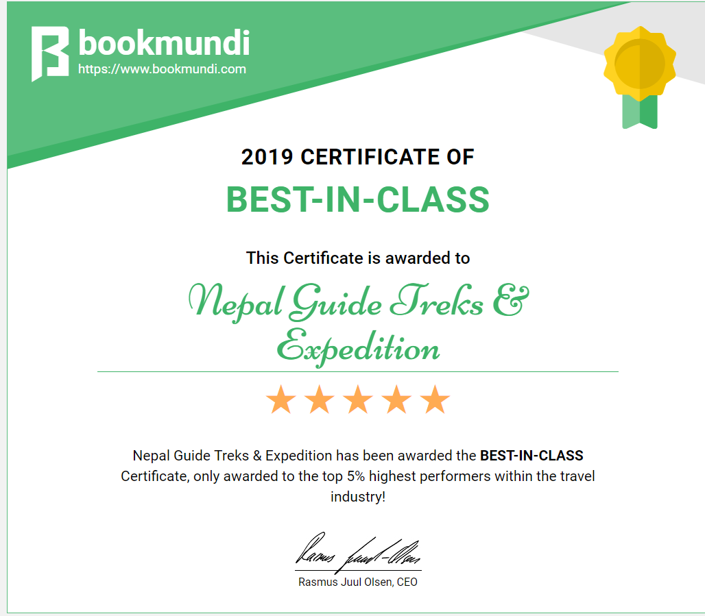 Bookmundi - Awards and Recognition 2019