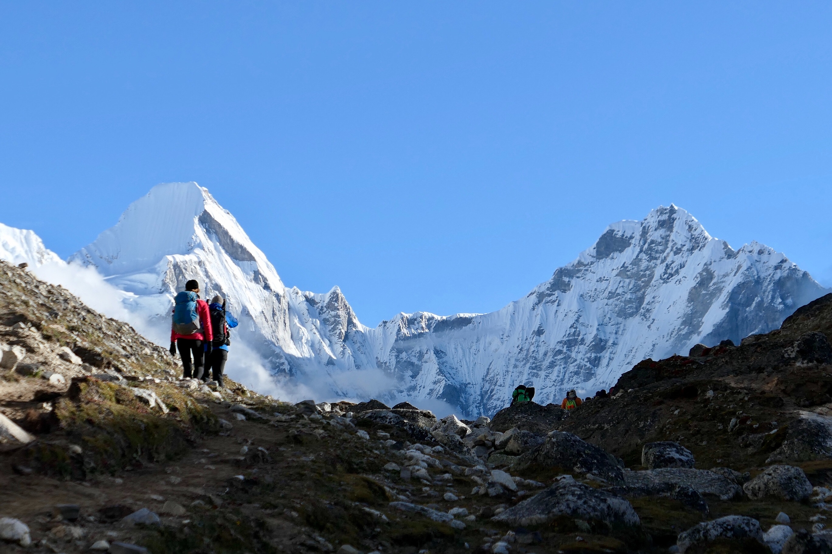Towards Sagarmatha
