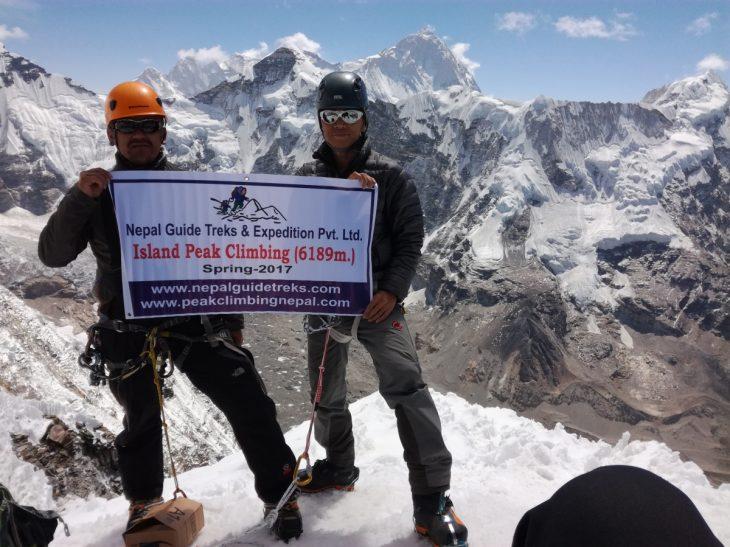 How is Mera Peak versus Island Peak?