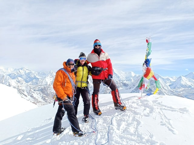 Mera Peak Weather October