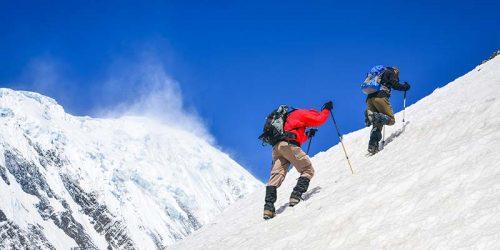 Island Peak Climbing from Chhukung