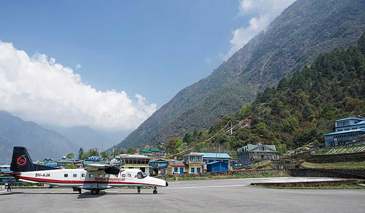 Closest airport to mount everest