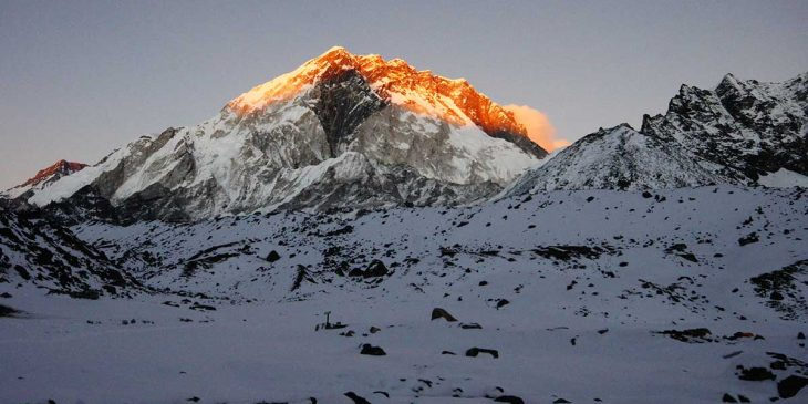 Everest Base Camp to Summit – Distance