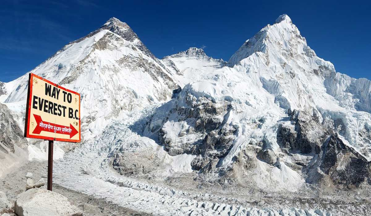 How old is Mount Everest