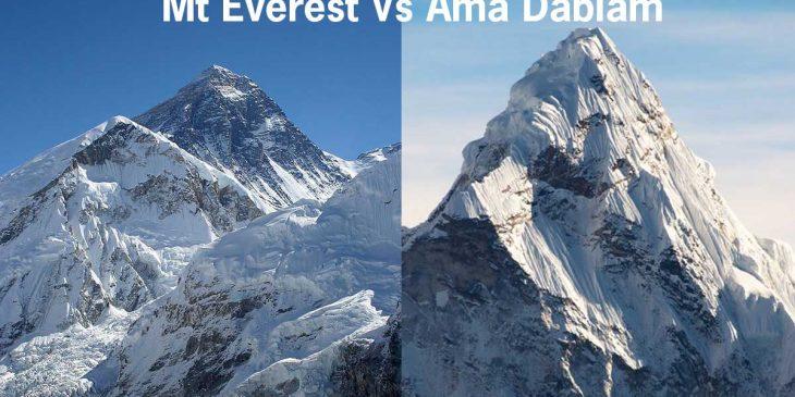 Ama Dablam vs Everest