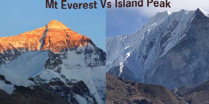 Island Peak vs Everest Expedition