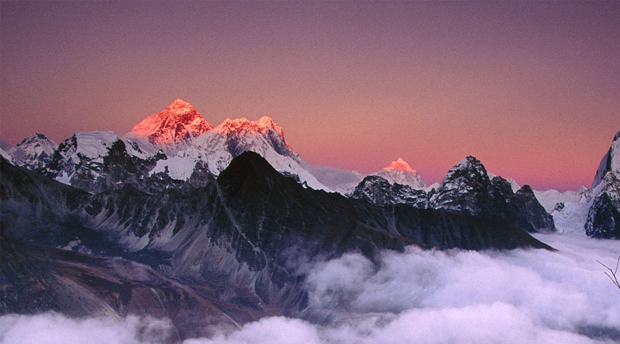 Climbing Everest in October