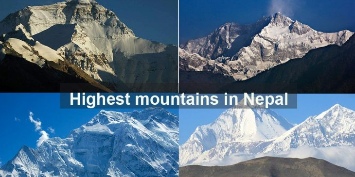 Top 10 Highest Mountain in Nepal